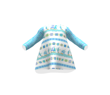 Light Aqua PLaid X-SML