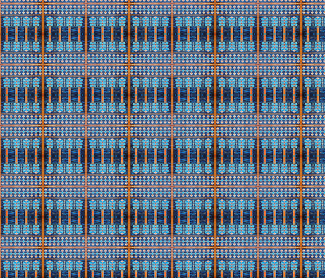 Sumerian tile 2 fabric by shaunaroberts on Spoonflower - custom fabric