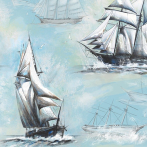 high seas painting