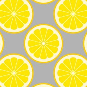 citrus slices R4X : lemon
