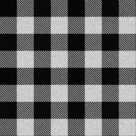 Black Gingham fabric by eclectic_house on Spoonflower - custom fabric