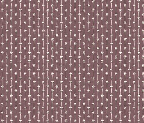 Rose stripes fabric by tracyschif on Spoonflower - custom fabric