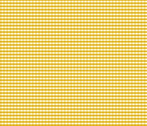 Mustard Gingham fabric by brainsarepretty on Spoonflower - custom fabric