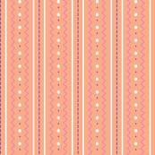Craft Stitch/Stripes - peach