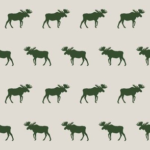 plaid moose fabric moose fabric hunter green and tan