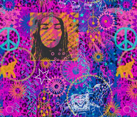 Boho Rock fabric by mariafaithgarcia on Spoonflower - custom fabric