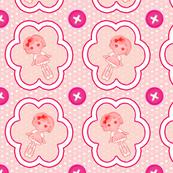 lalaloopsy sweetheart crumbs pink solid