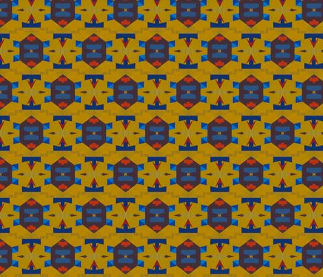 TOTEM_-_DESERT_TURTLE fabric by jennon on Spoonflower - custom fabric
