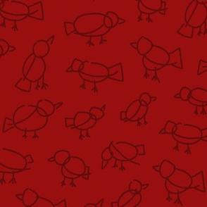 Scribble Birds