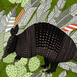 native armadillos green