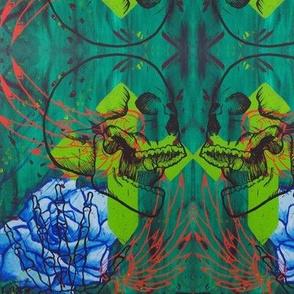 skull graffiti Lg