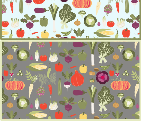 cut_and_sew_fruit_ecological_bag_vegetable fabric by nadja_petremand on Spoonflower - custom fabric