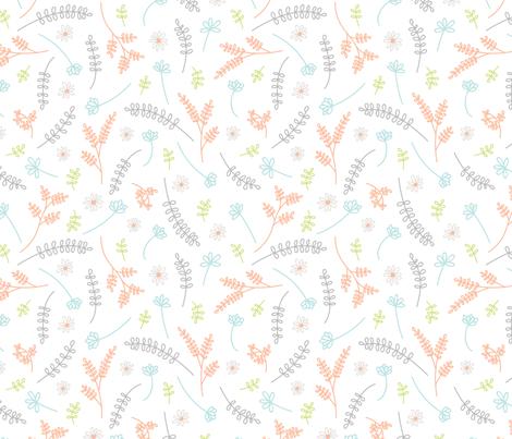 Spring Mix fabric by tiffanywongdesign on Spoonflower - custom fabric