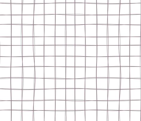 Grid fabric by tiffanywongdesign on Spoonflower - custom fabric