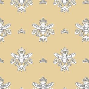 Royal Bumble Bee in Tan