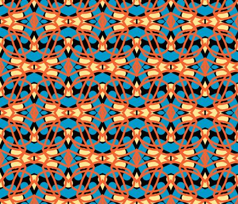 Round We Go 2b fabric by susaninparis on Spoonflower - custom fabric