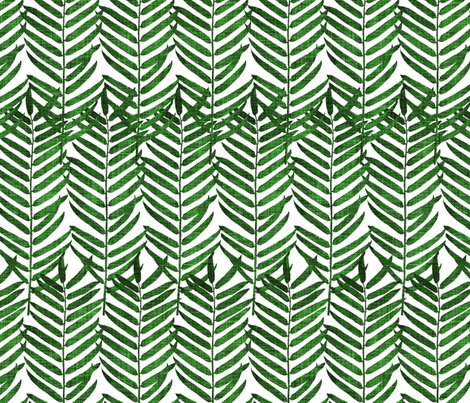Rpalm_fronds-_emerald_linen_white_shop_preview