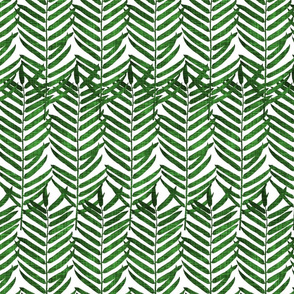 Luxe Palm Leaf (emerald)