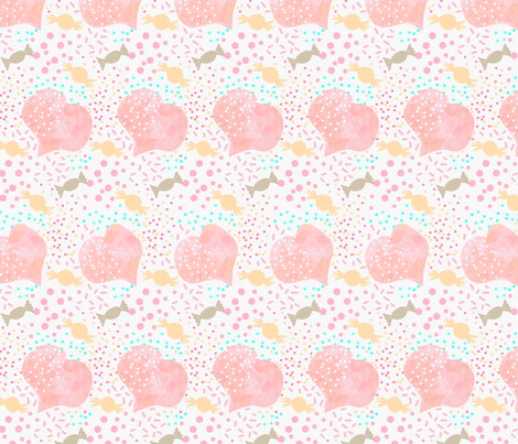 Candy Crushes  fabric by mulo_marrone on Spoonflower - custom fabric