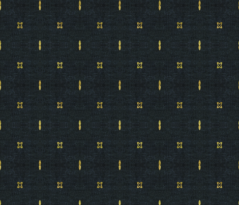 FRENCH_LINEN_BOHO_GOLD fabric by holli_zollinger on Spoonflower - custom fabric