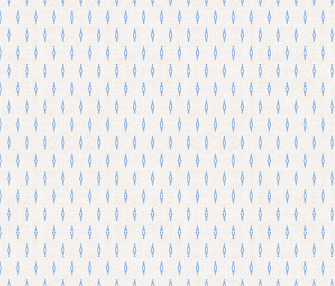 FRENCH_LINEN_BEADED_BLUE fabric by holli_zollinger on Spoonflower - custom fabric