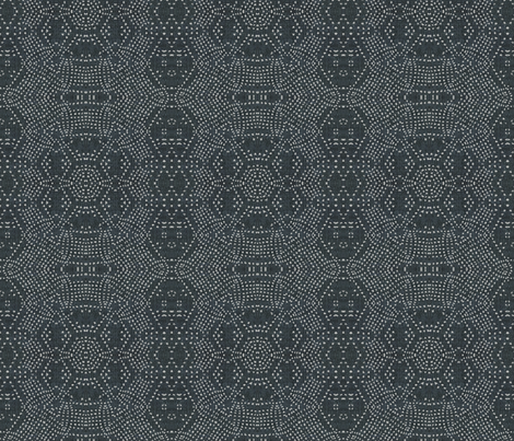 FRENCH_LINEN_MOSAIC_GREY fabric by holli_zollinger on Spoonflower - custom fabric