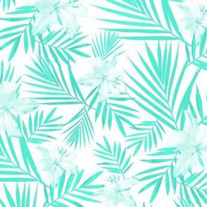 Tropical Mint Tints White