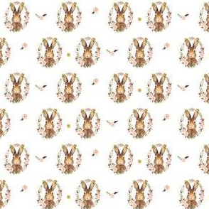 "2"" Some Bunny Loves Me - Repeat Print"