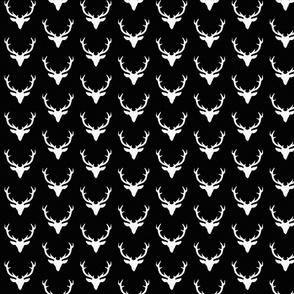Black Textured Deer