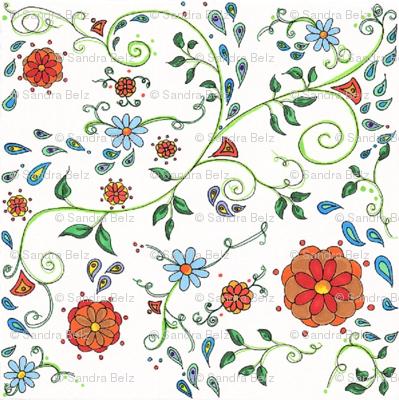 Floral & Paisley