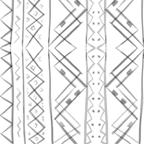 Tribal in White