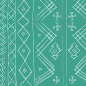 Tribal in Turquoise