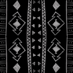 Tribal in Black & White