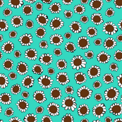 Mint and Chocolate Chip Sunflowers
