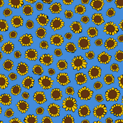 Yellow Sunflowers on