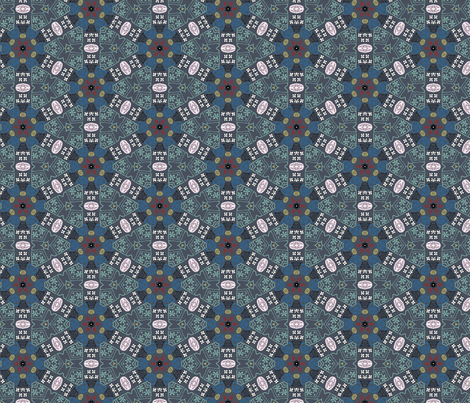 utl.08 fabric by artsybee_studio on Spoonflower - custom fabric