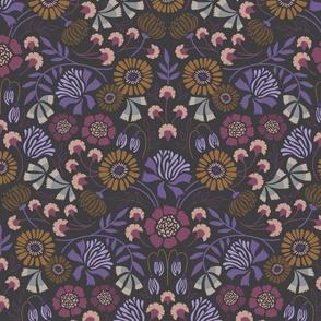 Brocade Blooms Violet