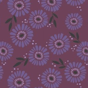 Daisy Patch Rasberry