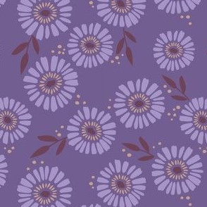 Daisy Patch Violet