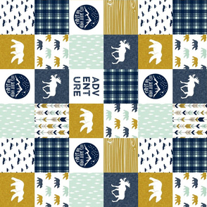 "3"" small scale - the happy camper wholecloth V2 (90) 