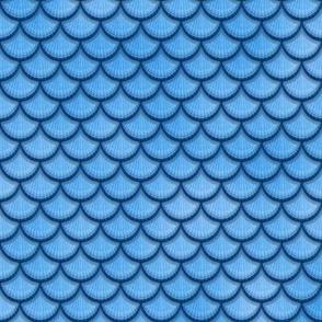 Sky Blue Mermaid Scales