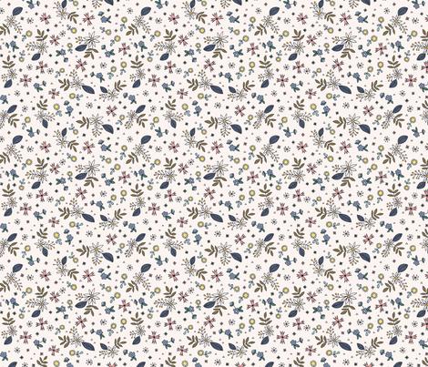 folksy ditsy 1 fabric by laura_may_designs on Spoonflower - custom fabric