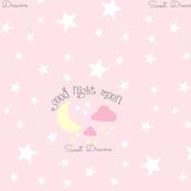 Moon Sweet Dreams 7-baby pink