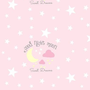 Moon Sweet Dreams 7-baby pink