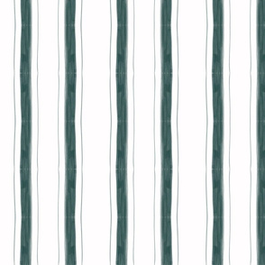 Edith Stripe in Teal