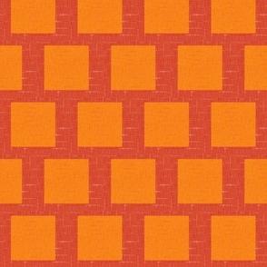 Summer Orange Squared 1