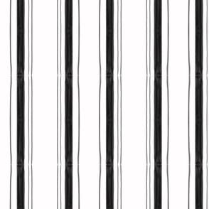 Edith Stripe in Black & White