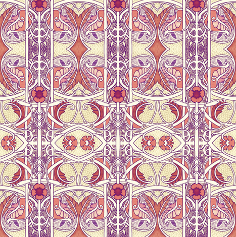 Searching For Dragons fabric by edsel2084 on Spoonflower - custom fabric