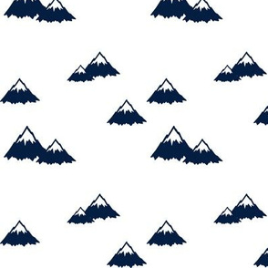 navy mountains || the great outdoors collection