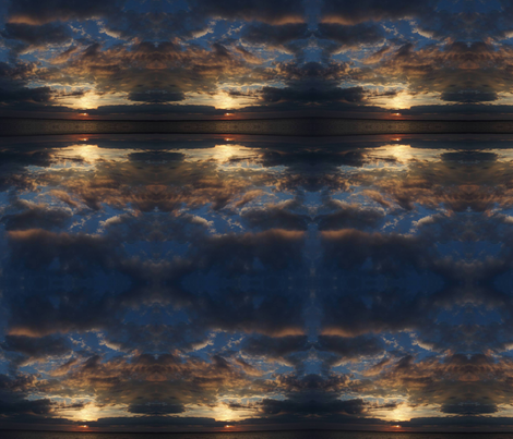 sunset_iow fabric by wandering_soul on Spoonflower - custom fabric